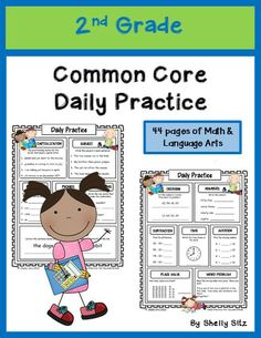 Daily Exercise for Elementary Math and Speech Art for Second Grade (August) 2nd Grade Ela, 2nd Grade Classroom, 2nd Grade Reading, Math Classroom, Second Grade, Grade 2, Teaching Activities, Teaching Reading, Learning