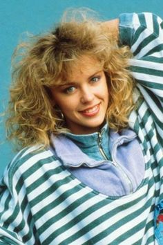 Kylie Minogue in youth