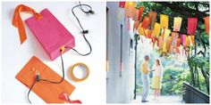 Saco de papel Lanternas | 28 Outdoor Lighting DIYs To Brighten Up Your Summer