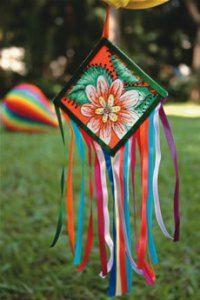 bandeirinha de chita