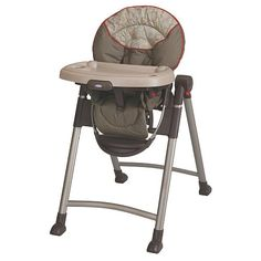 When it comes to mealtime convenience at home or away, it's hard to beat our Graco® Contempo™ highchair. It is our slimmest folding highchair, so it's a breeze to store and perfect for travel. Contempo also comes pre-assembled, so it is ready to use the moment you pull it out of the box. The dishwasher-safe, pull-out tray insert makes clean up a snap. And the 6-position height adjustment and one-hand, 3-position recline mean it's as comfortable for baby as it is convenient for you.<...