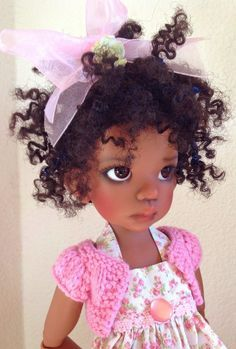 Dolls by Kaye Wiggs love my black - Google Search