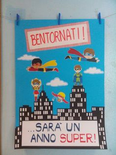 Bentornati a scuola! Classroom Projects, School Classroom, Classroom Organization, Classroom Decor, Last Day Of School, School Fun, Back To School, Diy And Crafts, Crafts For Kids