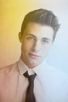 Colton Haynes. I cannot wait for the next season of Teen Wolf. come on MTV!