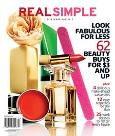 "Check out ""Ask Real Simple"" pg. 58 for my article in the March 2012 issue! @LBDujour"