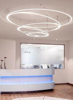 LED direct #light pendant #lamp TOCCATA by Sattler | #design Markus Bischof @sattlerlights