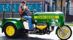 Wonder how fast that JD cycle travels???