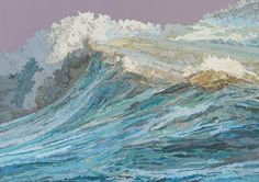 Matthew Cusick : Paintings & Collage : Map Works