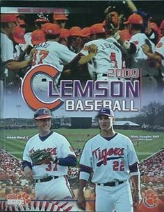 2009 clemson tigers #baseball media guide from $11.0