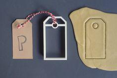 Stampato presente etichetta taglierina del biscotto, 3D