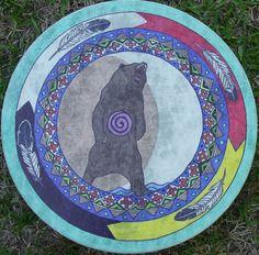 Wheel Tattoo, Skin Paint, Bear Silhouette, Tattoo Man, Medicine Wheel, Southwestern Decorating, Dream Catchers, Native American Indians, In A Heartbeat