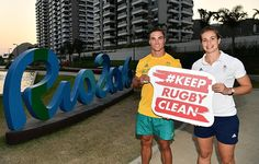 Keep Rugby Clean Ambassadors revealed in Rio