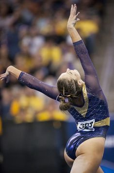 """Breaux didn't have a """"target"""" score for her gymnastics squad in the NCAA semifinals. Lsu Gymnastics, Gymnastics Images, Amazing Gymnastics, Artistic Gymnastics, Gymnastics Leotards, Beach Volleyball, Gymnastics Problems, Tumbling Gymnastics, Acrobatic Gymnastics"""