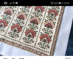 Karma, Fabric Crafts, Cross Stitch, Fabrics, Quilts, Embroidery, Blanket, Patterns, Knitting