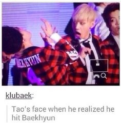 Why is this so funny? XD -- EXO {Tao}