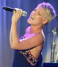 Alicia Beth Moore/P!nk; She is a tremendous talent; song writer, singer, aerialist and superb stage performer.  What's not to like!!