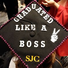 Why yes, yes you did! Congratulations, Boss and congrats to ALL of the hard working Brooklyn students. #sjcnygrad #sjcnycaps