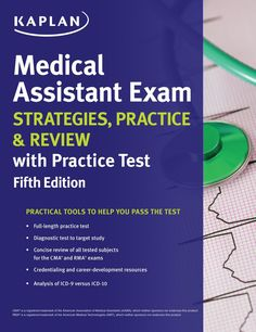 Medical Assistant Exam Strategies  Practice & Review with Practice Test (eBook)