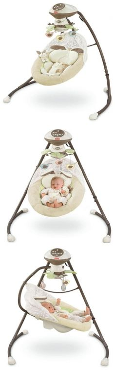 Fisher Price Cradle `n Swing My Little Snug A Bunny #newmomessentials