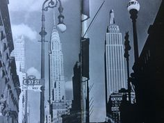 From Cecil Beaton's 'New York'. A great vision of a great city.