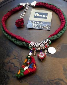 Rope Jewelry, Tribal Jewelry, Design Crafts, Diy Crafts, Lana, Ornaments, Beads, Bracelets, Creative