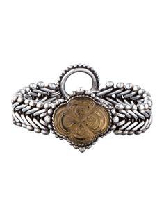 $314.00   Stephen Dweck Carved Quartz Bracelet