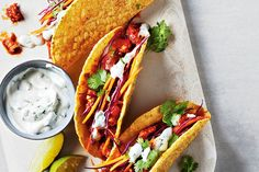 Quick Mexican Dishes for School Nights—Get the family excited for dinner on those busy school nights with these tasty and easy Mexican dishes that come together in a cinch. Easy Mexican Dishes, Mexican Food Recipes, Ethnic Recipes, Burritos, Enchiladas, Most Delicious Recipe Ever, Delicious Recipes, Lunches And Dinners, Meals