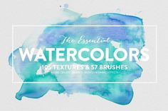 20% off • The Essential Watercolors by THE CO-OP on Creative Market
