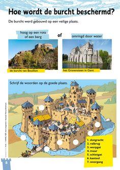 Biology For Kids, Castle Crafts, Dutch Language, Teaching History, Industrial Revolution, Medieval Castle, Sociology, Romans, Social Studies