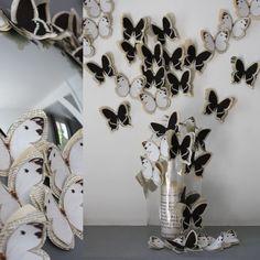 Fabric & Paper Butterflies