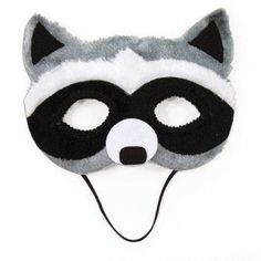 Raccoon Half Mask