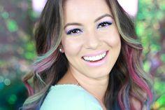 Tutorial de maquiagem colorida   Candy Colors por Juliana Goes