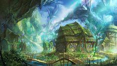 x Forest village