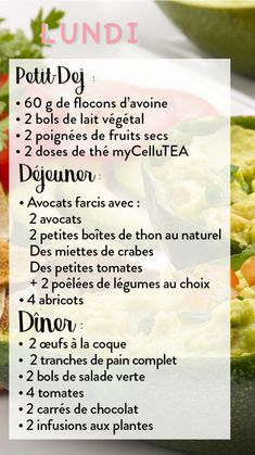 Ma semaine de menus minceur anti-cellulite #3 | Cellublue Anti Cellulite, Allergies, Food And Drink, Diet, Cooking, Healthy, Sport, Menu Planning, Healthy Meal Planning