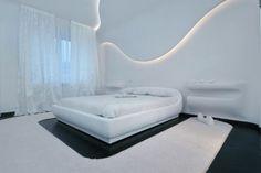 Futuristic Interior Design | Futuristic Apartment Interior by Natalia farnosova and Elena Samarina