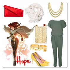 """""""Hope Summers"""" by claudialogan ❤ liked on Polyvore featuring Erica Anenberg, Adoriana, Jennifer Fisher, Boohoo and Diane Von Furstenberg"""
