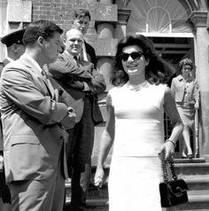 Jackie Kennedy in Ireland