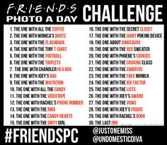 "Starts Feb 1. ""Friends"" themed photo-a-day challenge... :) #Friends"
