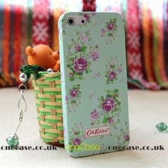 """This beautiful Cath Kidston Case for iphone 5 will decorate, protect your iPhone5; Fashionable and uniqueness, gives your iphone5 a new look. You are looking at a piece of authentic """"Cath Kidston"""" iphone case with lovely pattern on top. So lovely & special, super gift for friends!"""