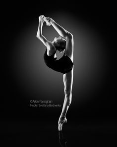 Behind the back 2 (Svetlana Bednenko of Mikhailovsky Ballet) by Allen Parseghian on 500px