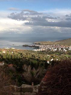 Andros Island - Greece Greek House, Greek Isles, Greece Islands, Beautiful Islands, Crete, Planet Earth, Sky, Beach, Travel