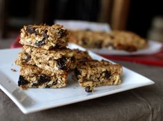 cherry coconut granola bars