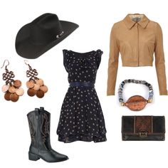 Classy Cowgirl, created by mizar on Polyvore
