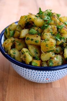 French Sautéed Potatoes #potatoes #sides | www.rachelphipps.com @rachelphipps