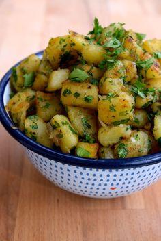 French Sautéed Potatoes | www.rachelphipps.com @rachelphipps