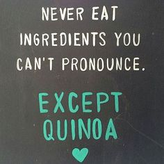 Quinoa? Acai? Jicama? There are plenty of foods that are difficult to pronounce, if you're not familiar with them! - Not all ingredients that are difficult to pronounce are unhealthy! The best way to know what's in your food is to make it yourself. Create healthy meal plans with @mealplanmagic.