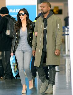 This is one of the only outfits of Kim's that I've liked since she got with Kanye. Understated is great sometimes - she doesn't always have to be so over the top