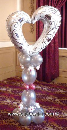 Quicklinks Wedding Design #globo #corazon abierto www.regalosamer.com.mx