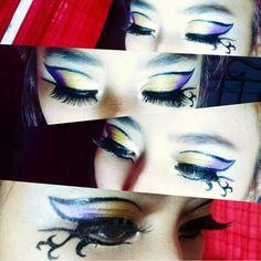 Katy perry's dark horse eye makeup