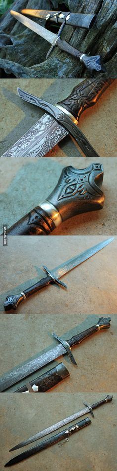 Are we still into swords? Here is an amazing one from Cedarlore Forge
